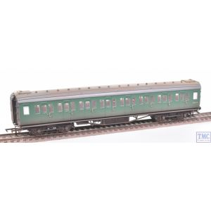 R4834 Hornby OO Gauge BR Maunsell Corridor Second Coach S1113S (Era 5) Weathered by TMC