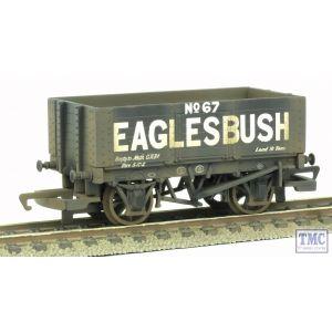 R6591 Hornby Eaglesbush 6 Plank Wagon TMC Weathered