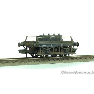 R6642 Hornby OO/HO Gauge GWR Shunters Truck (Acton) Weathered by Weathered by TMC