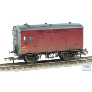 R6728 Hornby OO Gauge BR (ex-LMS) Horse Box Weathered by TMC
