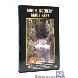 R973 Woodland Scenics Model Scenery Made Easy DVD