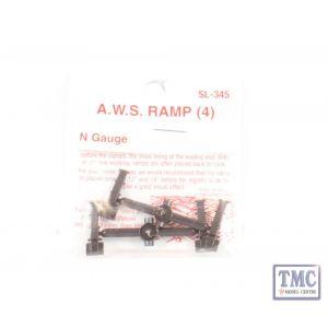 SL-345 N Gauge AWS Ramp (dummy) Peco