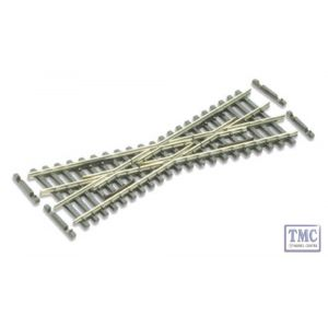 SL-E393F N Gauge Short Crossing (20 angle) Peco