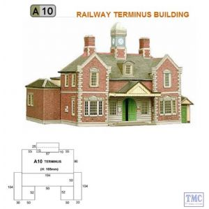 A10 Superquick OO/HO Terminus or Through Station - Card Kit