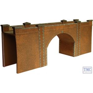 A14 Superquick OO/HO Red Brick Bridge/Tunnel Entrance - Card Kit