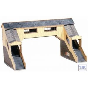 A9 Superquick OO/HO Covered Footbridge - Card Kit