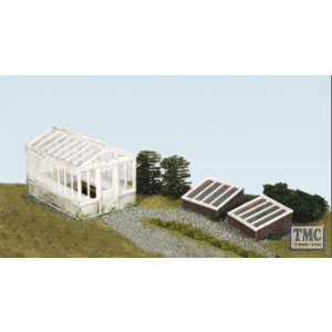 SS20 OO Gauge Greenhouse & cold Frames inc. Glazing Material
