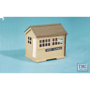 SS29 OO Gauge Ground Level Signal Box