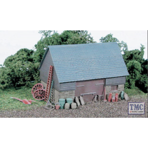 SS30 OO Gauge Barn Stone & timber Built Type