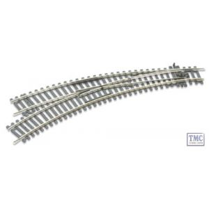 ST-245 OO/HO Scale Curved Double Radius L/H Turnout Insulfrog Peco