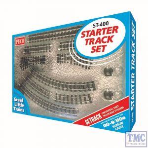 ST-400 Peco Setrack 00-9 Code 80 Starter Track Set