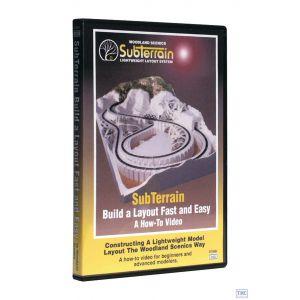 ST1400 Woodland Scenics Subterrain Video Dvd