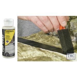 ST1454 Woodland Scenics Top Coat Concrete 4 fl. oz.