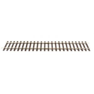 "ST-700 Peco O Gauge Setrack Bullhead straight 400mm (15.5"")"