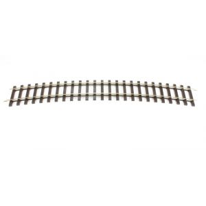 "ST-725 Peco O Gauge Setrack Bullhead 2nd radius standard curve 410mm (16"") radius 1020mm (40.5""). 16 make a circle"