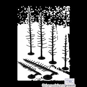 "TR1124 Woodland Scenics 2.5""-4"" Tree Armatures"