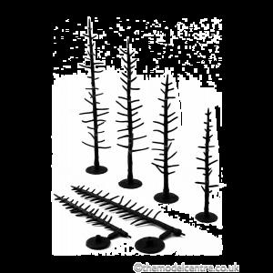"TR1125 Woodland Scenics 4""-6"" Tree Armatures"