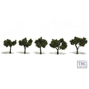 """TR1502 Woodland Scenics 1.25""""-2"""" Ready Made Medium Green (5/Pk)"""