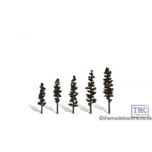 "TR3560 Woodland Scenics 2 .5""-4"" Classic Standing Timber (5/Pk)"