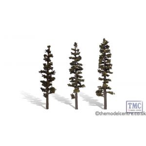 "TR3562 Woodland Scenics 6""-7"" Classic Standing Timber (3/Pk)"