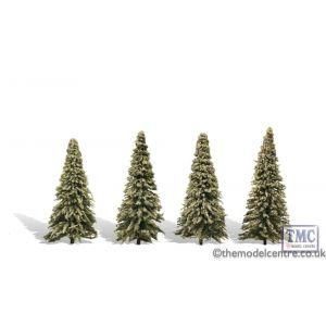 "TR3569 Woodland Scenics 3 .5""-5 .5"" Classic Blue Needle (4/Pk)"
