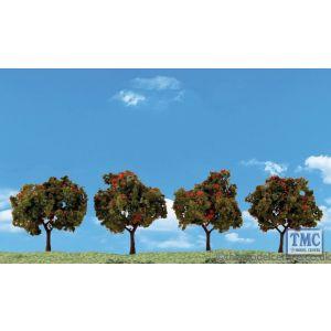 "TR3591 Woodland Scenics 2""-3"" Classic Apple Trees (4/Pk)"