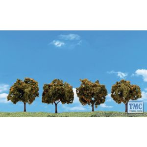 "TR3592 Woodland Scenics 2""-3"" Classic Orange Trees (4/Pk)"