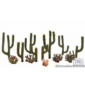 "TR3600 Woodland Scenics .5""-2.5"" Classic Cactus Plants 1(3/Pk)"