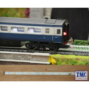 TTCL21 Train Tech HO/OO Scale Coach Lighting with Effect - Cool White/Flashing Tail