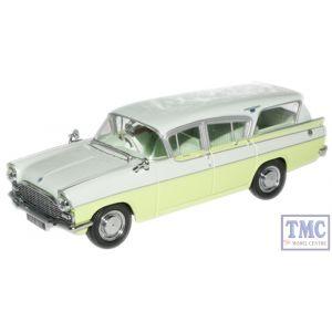 VFE004 Oxford Diecast 1:43 Scale Swan White/Lime Yellow Vauxhall Cresta Vauxhall Cresta Friary