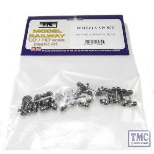 WHEELSSPOKE Dapol OO Gauge Pack Of 20 Spoked Wheels