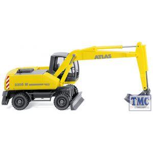 066103 Wiking Atlas 2205M Mobile Excavator Zinc Yellow
