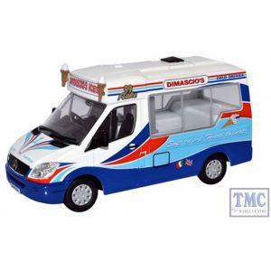 WM002 Oxford Diecast 1:43 Scale Dimascio's Whitby Mondial Ice Cream Van