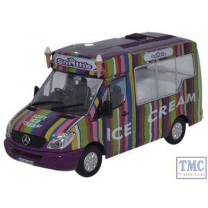WM006 Oxford Diecast 1:43 Scale Whitby Mondial Ice Cream Smiths Ice Cream Mercedes Ice Cream