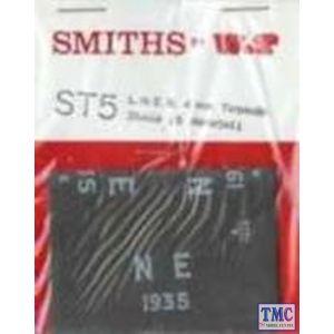 WTST5 Smiths OO Gauge LNER 1923/47 Tarpaulins
