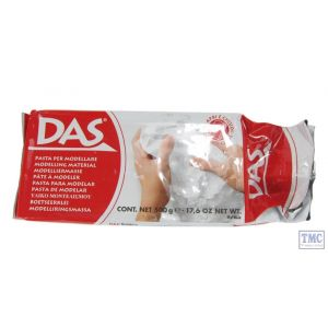 X500DAS DAS Modelling Clay 500g - White