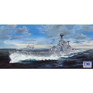 TM03710 Trumpeter 1:350 Plastic Kit HMS Hood 1941