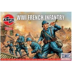 A00728V Airfix 1:76 Scale WWI French Infantry