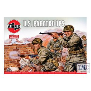 A00751V Airfix 1:76 Scale WWII US Paratroops