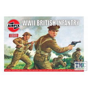A00763V Airfix 1:76 Scale WWII British Infantry N. Europe