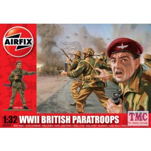 A02701V Airfix 1:32 Scale WWII British Paratroops