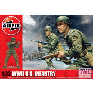 A02703V Airfix 1:32 Scale WWII U.S. Infantry