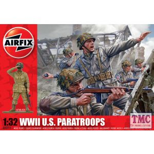 A02711V Airfix 1:32 Scale WWII U.S. Paratroops