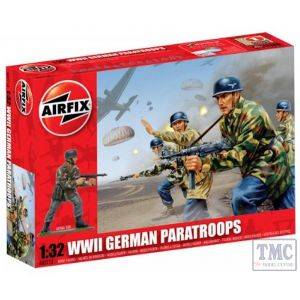 A02712V Airfix 1:32 Scale WWII German Paratroops