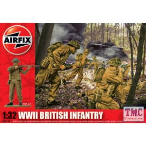 A02718V Airfix 1:32 Scale WWII British Infantry