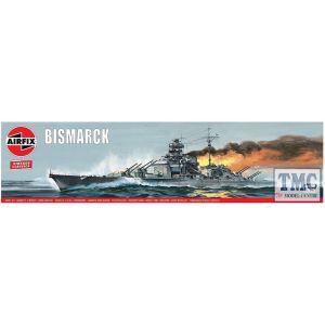 A04204V Airfix 1:600 Scale Bismarck