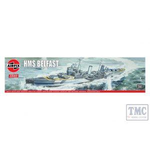 A04212V Airfix 1:600 Scale HMS Belfast