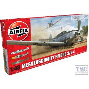 A05120B Airfix 1:48 Scale Messerschmitt Me109E-4/E-1 1:48