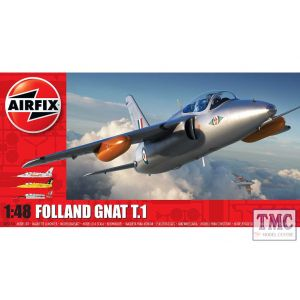 A05123A Airfix 1:48 Scale Folland Gnat T.1