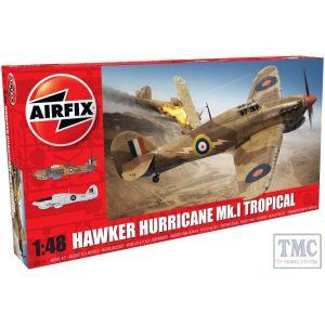 A05129 Airfix 1:48 Scale Hawker Hurricane Mk.I Tropical